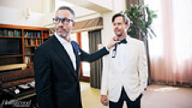 Jimmi Simpson's Emmy Tux Makeover   Hollywood Style Clinic