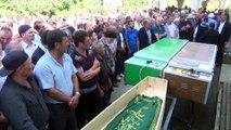 Giresun'da dün meydana gelen kazada hayatını kaybedenler toprağa verildi