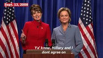Tina Fey's Best Appearances As Sarah Palin On 'SNL'