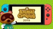 Animal Crossing annoncé sur Switch (2019)