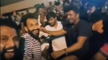 ಗಣೇಶ ಉತ್ಸವದಲ್ಲಿ ಕುಣಿದು ಕುಪ್ಪಳಿಸಿದ ಪುನೀತ್ ರಾಜ್ ಕುಮಾರ್ ರಾಘವೇಂದ್ರ ರಾಜ್ ಕುಮಾರ್   Filmibeat Kannada