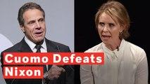 Andrew Cuomo Easily Defeats Cynthia Nixon In NY Governor Primary