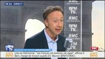 """""""Emmanuel Macron m'a réaffirmé son soutien"""", assure Stéphane Bern"""