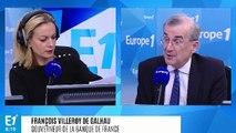 """François Villeroy de Galhau : """"La France est en retard de croissance sur nos voisins européens parce qu'elle est en retard de réformes"""""""