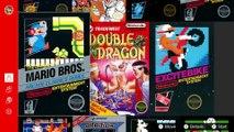 Nintendo Switch Online - Aperçu du catalogue NES