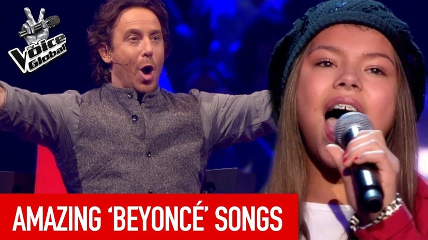 AMAZING BEYONCE SONGS in The Voice Kids