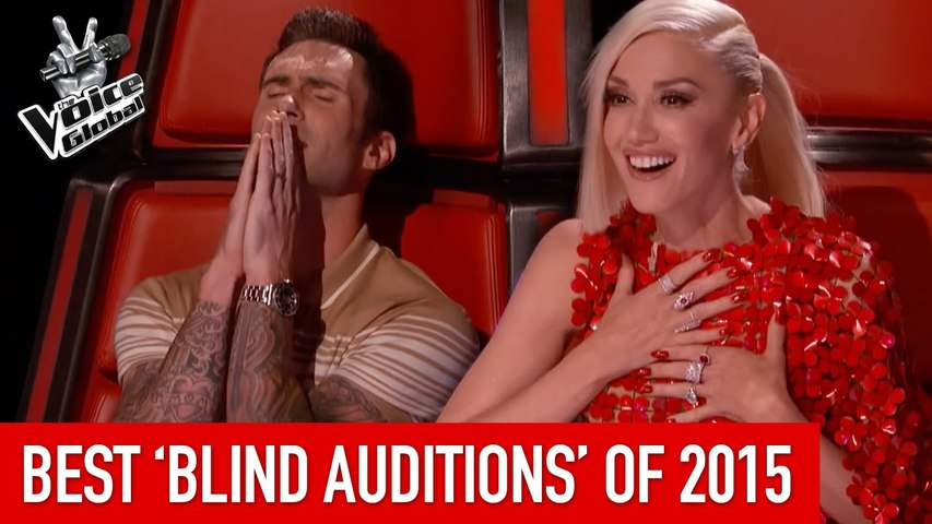 BEST 'Blind Auditions' of 2015   The Voice