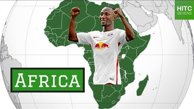 Best Midfielder From Each of the 7 Continents