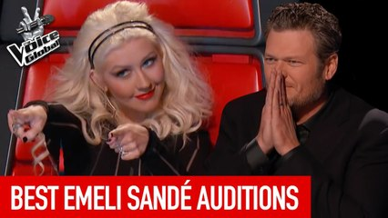 BEST 'EMELI SANDÉ' Blind Auditions in The Voice   The Voice Global