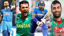 Asia Cup 2018: Shikhar Dhawan or Fakhar Zaman, Who is best Left Handed batsman?|वनइंडिया हिंदी