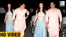 Arbaaz Khan And Girlfriend Giorgia Adriani Attend Ganpati Celebrations At Arpita Khan's Place