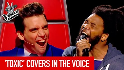 Best TOXIC covers of BRITNEY SPEARS in The Voice