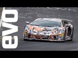 Lamborghini Aventador SVJ laps the Nurburgring in 6:44.97