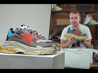 Unboxing the Balenciaga Triple S   Opinions, Review and COMPETITION!