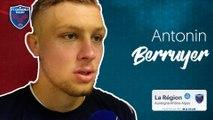 Antonin Berruyer : « Je suis fier d'être capitaine de cette équipe »