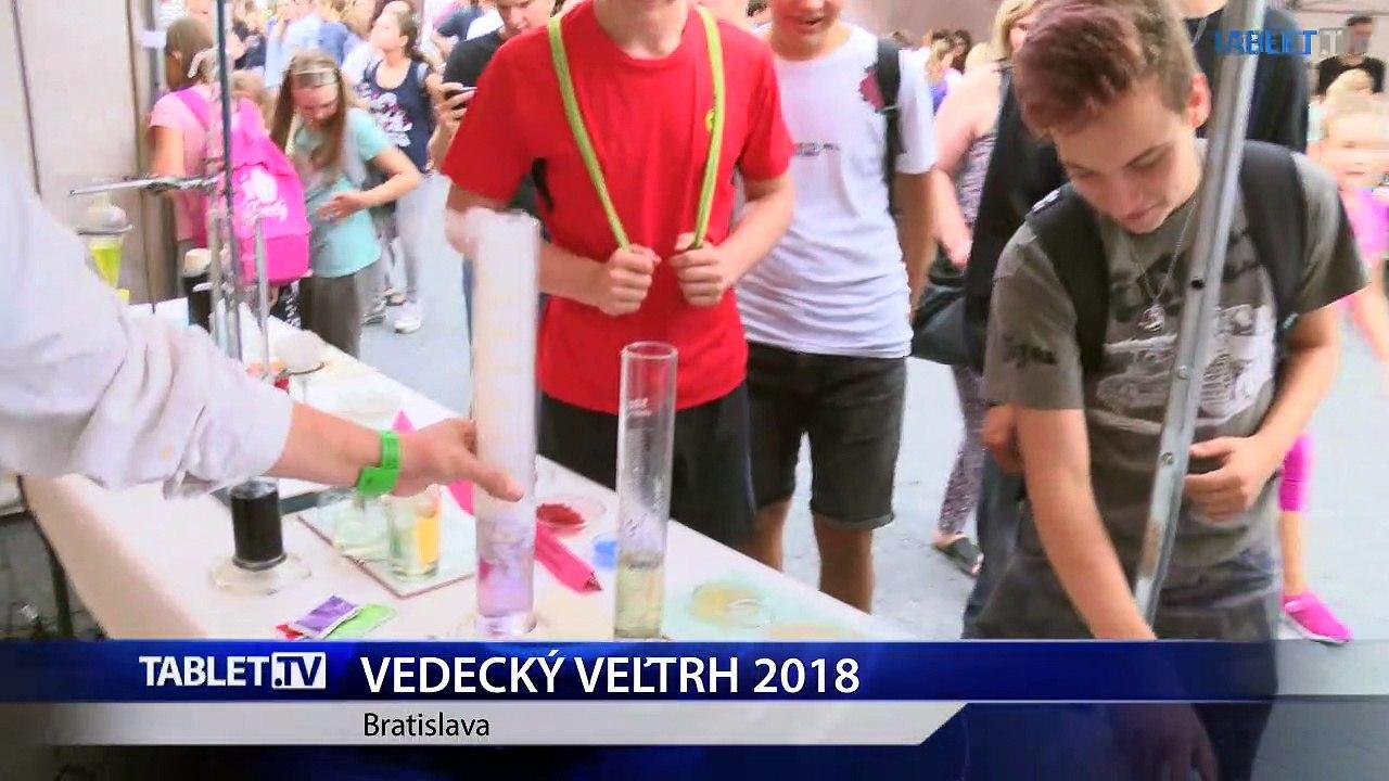 Tretí ročník vedeckého veľtrhu v Bratislave prilákal rekordný počet návštevníkov