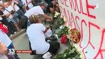 Pont Morandi (Gênes) :  Suivez la minute de silence rendant hommage aux victimes un mois après la chute du pont