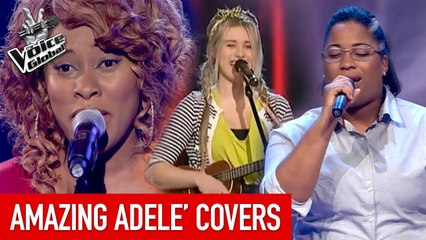 The Voice   AMAZING ADELE Blind Auditions