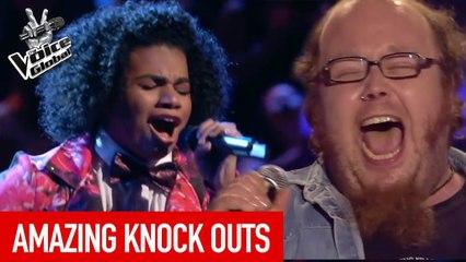 The Voice   AMAZING KNOCK OUT performances