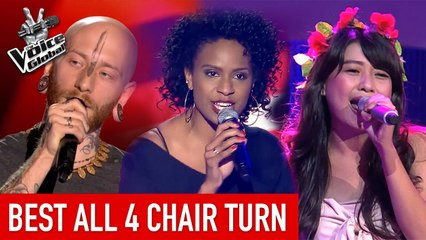 The Voice   Best 'ALL 4-CHAIR' Turn arounds [PART 2]