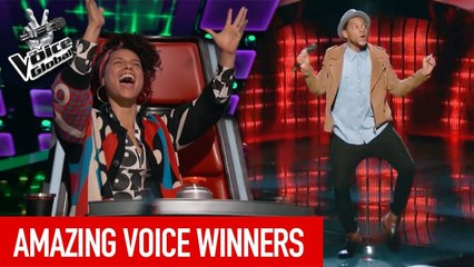 The Voice   AMAZING WINNERS from all around the world [PART 3]