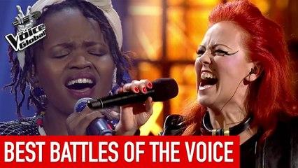 The Voice   BEST BATTLES from around the world