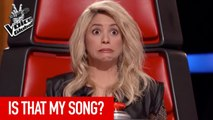 Best SHAKIRA COVERS in The Blind Auditions of The Voice