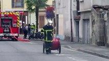 Tarbes - Incendie avenue du Régiment de Bigorre