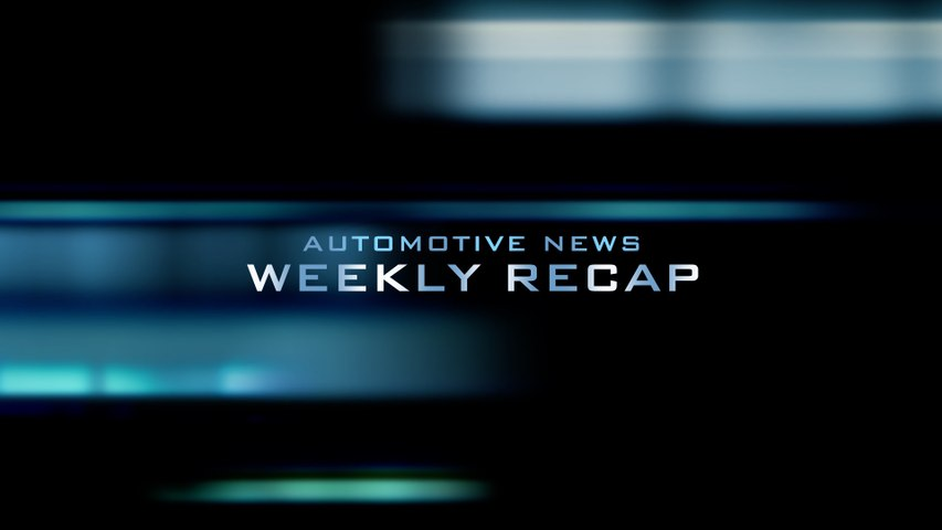 Automotive News Weekly Recap 14 Sept, 2018