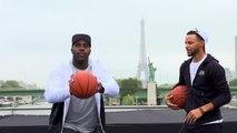 Quand Stephen Curry rencontre Teddy Riner et découvre Paris