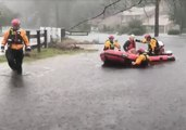 NYC's Urban Search and Rescue Team Performs Water Rescues in River Bend