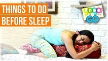 Things To Do Before Sleep | 5 Minutes Before Bed Yoga | Tips To Have Sound Sleep In Night