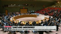 UN Security Council to hold urgent meeting on Monday on North Korea sanctions implementation