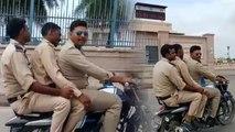 VIDEO: बैखौफ कानून तोड़ती है लखनऊ पुलिस, टोकने पर देती है गंदी-गंदी गालियां