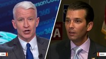 Trump Jr. Hits Back: CNN's Anderson Cooper 'Lied About Me'
