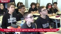 Erdoğan Kabataş Erkek Lisesi'ni gezdi