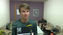 Maxime, ramasseur de balles pour le Moselle Open