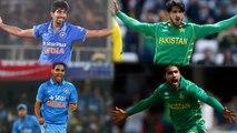 Asia Cup 2018: Jasprit Bumrah-Bhuvneshwar Kumar vs Amir-Hasan Ali, who is Best?|वनइंडिया हिंदी