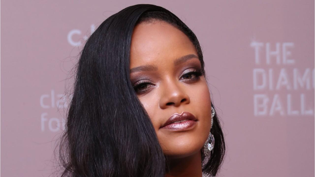 Rihanna Talks Charity Work At Diamond Ball