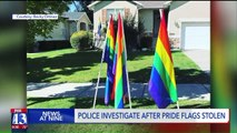 Investigation Underway After Pride Flags Stolen, Vandalized in Utah