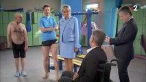 """""""Merci pour ce moment"""" : Brigitte Macron fait une apparition dans """"Vestiaires"""" pour parler de handicap"""