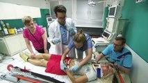 Ihre langen Haare werden abgeschnitten! Verdacht auf Hirnblutung! | Klinik am Südring | SAT.1 TV