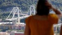 الإيطاليون يقفون حداداً وتكريماً على ضحايا انهيار جسر جنوة