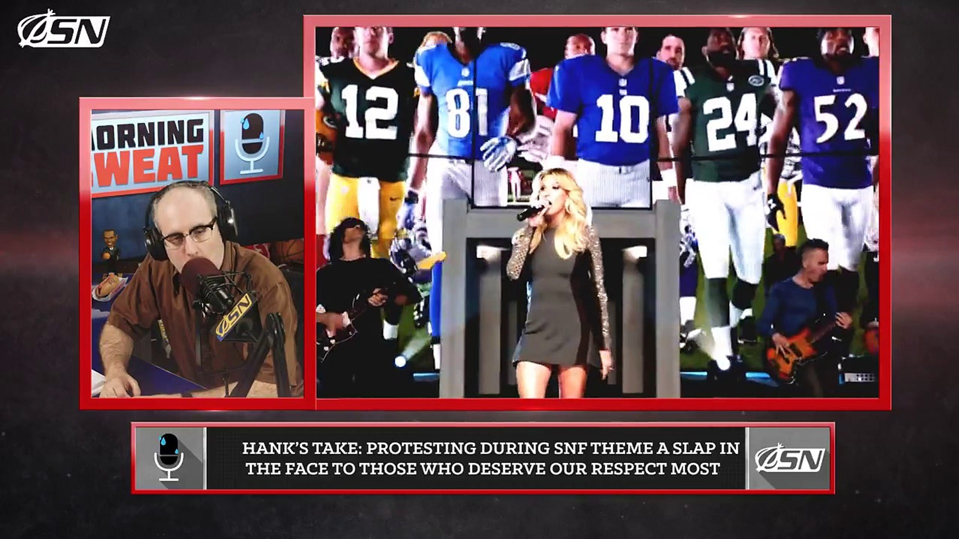 NFL Players Absolutely Should Stand For The 'Sunday Night Football' Theme