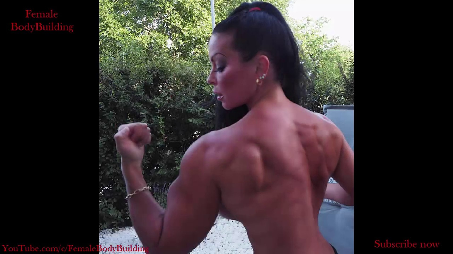 Adriana Kuhl - Muscle Girl with Big Biceps and Chest.
