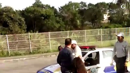 Ocorrência de trânsito termina com agressões na Serra