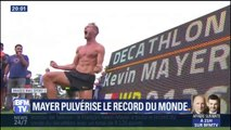 La journée folle de Kévin Mayer, le nouveau recordman du décathlon