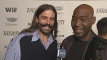 """Queer Eye's"" Karamo Brown & Jonathan Van Ness Talk First Emmy Win"