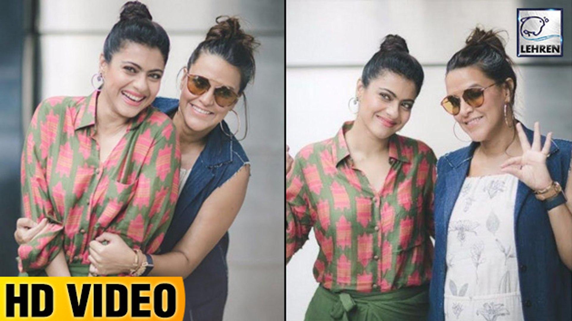 Pregnant Neha Dhupia Bonds With Kajol For No Filter Neha Season 3