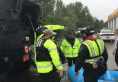 Fayetteville Police Help Stranded Families as Flooding Continues to Rise in North Carolina